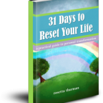31 Day Reset Cover 3D Transparent